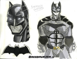 World's Finest 2015 - Batman Costume by Dreed-06