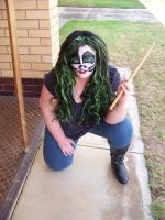 Me with Peter Criss Makeup1 by gurihere