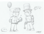 Jesse Cox and TotalBiscuit by Sprocketz