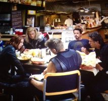 The Avengers: Shwarma Time by RaimbowPokaDots