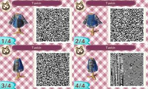 Eddie Gluskin QR Code for Animal Crossing New Leaf by Stevolteon