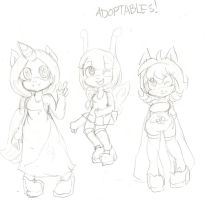 Adoptables 28 29 30 by C-ELF