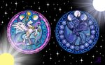 Windows of the DemiGods by Akili-Amethyst