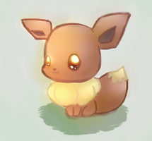 Eevee Face by Volteon