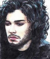 Jon Snow by LiberianGurrl
