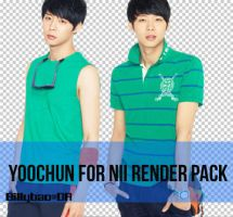 Yoochun render pack by BiLyBao