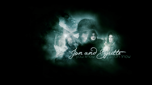 Jon and Ygritte wallpaper by Nomicane