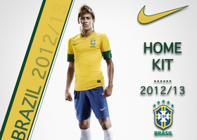 Brazil 2012-13 kit Advert by PaRaLaX-ArT