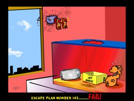 Urban Gerbils.The (Not so) Great Escape by DannoGerbil