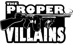 The Proper Villains Logo 4 by TheMacRat