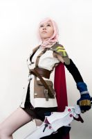 Cosplay Lightning FFXIII :3: by satsukiss