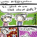 Drills and an objection by LinksInMe