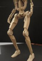 Star Wars Battle Droid detail by PatrickGavin