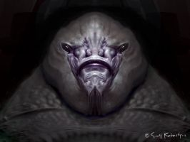 Alien Portrait 1 by scoro5