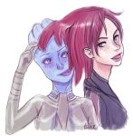 Liara's new haircut... by tilhe