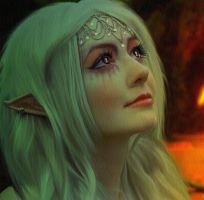 Forest Elf.. by WelshDragonStockNArt