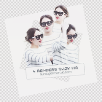 [ PACK RENDERS #20 ] Suzy by sunsuperman