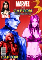 MVC3 comic cover by The-Red-Jack03