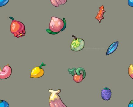 Pokemon Berry Tiled Background by Uw0