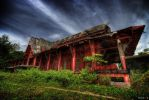 hdr - the red building by mayonzz