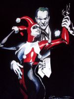 Joker and Harley by ncajayon