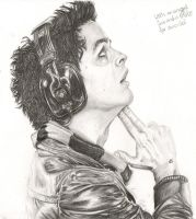 Billie-Joe Armstrong by veryrandom