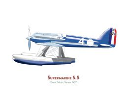 Supermarine S.5 by MercenaryGraphics