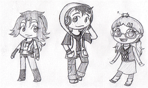 Quick Chibi Refs by FatefulWings
