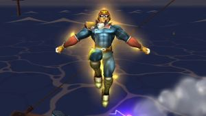 Captain Jesus Falcon by EpicBrawlPictures