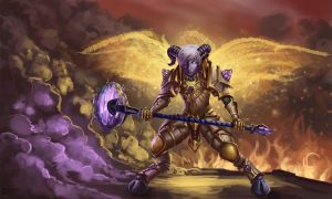 World of Warcraft - Yrel by GetsugaDante