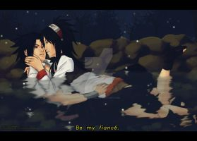 Sasuke and his real girl by Spacekitty04