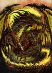 Ogiaath the Dragon of Extinction by WretchedSpawn2012