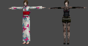 FF: MISAKI POP AND KIMONO by OoFiLoO