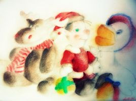 Christmas by dr4wing-pencil