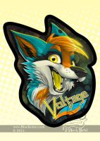 Voltage ConBadge by bluekoinu