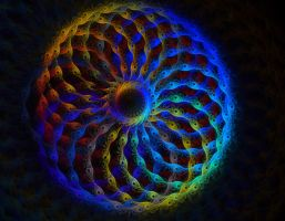 Life is like a colorful ball of yarn by eReSaW
