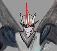Starscream by Lizscream