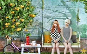 Hello Venus:Lime and Yoonjo by Jover-Design