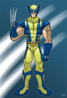 wolverine baby by HEROBOY