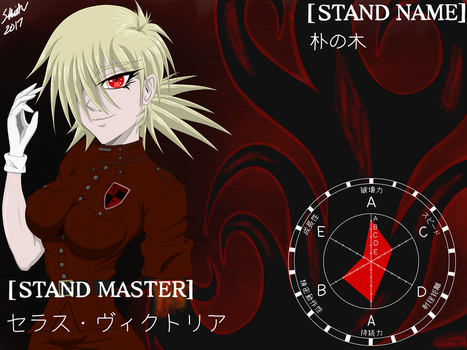 Seras Victoria Stand User by Skeith72