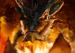 Smaug the king under the mountain  by Arielrawdah