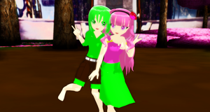 [MMD]Newcomers by Vocaloidfan33