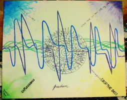 Dubstep: A Visual Representation by paint-and-pen-key