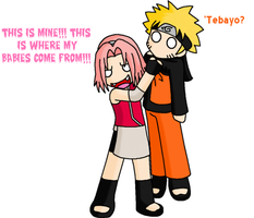 NaruSaku: THIS IS MINE by Novanator