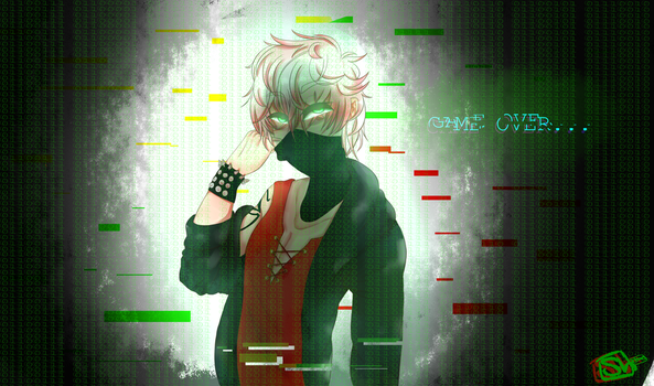 Game over (Mystic messenger, Unknown) by catwithoutwhiskers