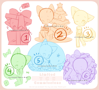 [CLOSED] FTO Limited YCH Commission Set 4 by whitepaperrabbits