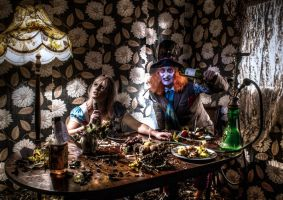Artistic Mad Hatters Tea Party 2 by Colin-Pierce