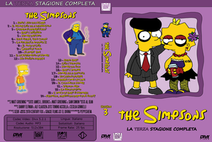 The Simpsons Cover Season 3 by eldivino87