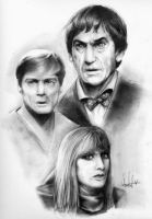 The Second Doctor - Cover SDT by Marker-Mistress