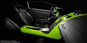 Gallardo LP 560-4 Interior III by notbland